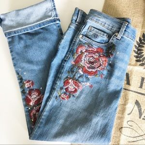 GV Embroidered Jeans